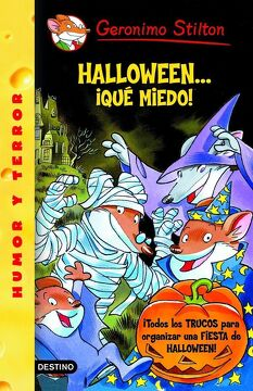 portada Stilton: Halloween.    Que Miedo! (Geronimo Stilton)