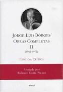 Ii. Obras Completas Edicion Critica - Jorge Luis Borges - Emece