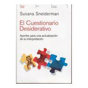 El Cuestionario Desiderativo - Susana Sneiderman - Paidos