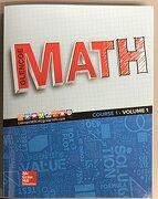 Glencoe Math 2016, Course 1 Student Edition, Volume 1 - Mcgraw-Hill Education - Mhe Us
