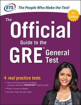 portada The Official Guide to the gre General Test, Third Edition (libro en Inglés)
