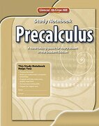 Precalculus, Study Notebook (Advanced Math Concepts) (libro en inglés) - Mcgraw-Hill Education - Glencoe Secondary