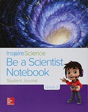 portada Be a Scientist Notebook Grade 2
