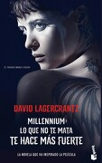 Lo que no te Mata te Hace mas Fuerte - Lagercrantz David - Booket