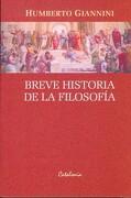 Breve Historia de la Filosofia - Humberto Giannini - Catalonia