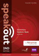 Speakout Elementary 2nd Edition Students' Book With Dvd-Rom and Myenglishlab Access Code Pack (libro en inglés) - Antonia Clare; Jj Wilson - Pearson Education