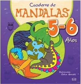portada Cuaderno de Mandalas 5-6 Años