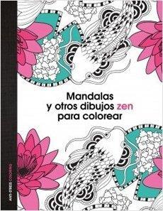 portada Mandalas y Otros Dibujos zen Para Colorear