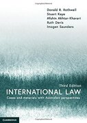International Law: Cases and Materials With Australian Perspectives (libro en inglés)