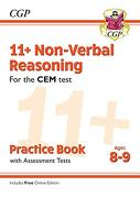 New 11+ cem Non-Verbal Reasoning Practice Book & Assessment Tests - Ages 8-9 (libro en inglés)