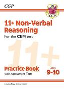 New 11+ cem Non-Verbal Reasoning Practice Book & Assessment Tests - Ages 9-10 (libro en inglés)