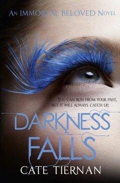 portada Darkness Falls (Immortal Beloved Book Two) (Immortal Beloved 2) (libro en Inglés)