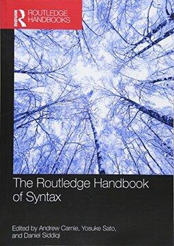 portada The Routledge Handbook of Syntax (Routledge Handbooks in Linguistics) (libro en inglés)