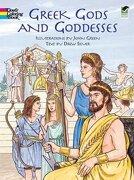 Greek Gods and Goddesses (Dover Classic Stories Coloring Book) (libro en inglés) - John Green - Dover Publications