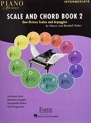 Piano Adventures Scale and Chord Book 2: One-Octave Scales and Chords (libro en inglés)