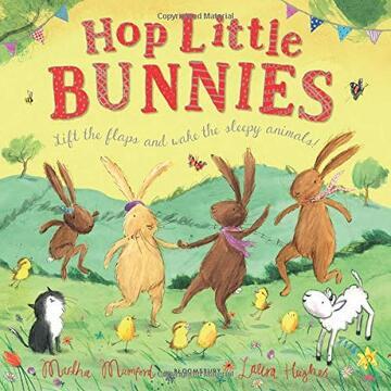 portada Hop Little Bunnies (libro en inglés)