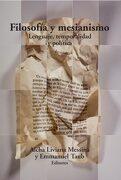 Filosofia y Mesianismo - Aïcha Liviana Messina - Metales Pesados
