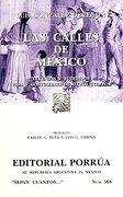 Las Calles de Mexico - Luis Gonzalez Obregon - Porrua