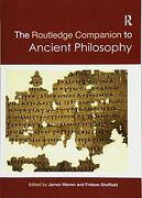 Routledge Companion to Ancient Philosophy (Routledge Philosophy Companions) (libro en inglés)