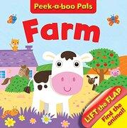 Farm Peekaboo Who? (Peek-A-Boo-Pals) (libro en inglés)