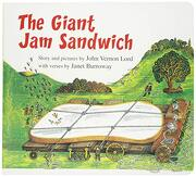 The Giant jam Sandwich (Lap Board Book) (Read Along Book & cd) (libro en inglés)