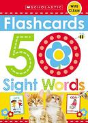 Flashcards - 50 Sight Words (Scholastic Early Learners) (libro en Inglés) - Scholastic; Scholastic Early Learners - Scholastic Early Learners