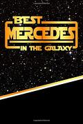 "Best Mercedes in the Galaxy: Jiu-Jitsu Training Diary Training Journal log Feature 120 Pages 6""X9"" (libro en inglés)"