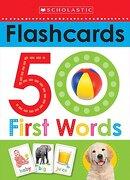 Flashcards: 50 First Words (Scholastic Early Learners) (libro en Inglés) - Scholastic - Ingram International Inc