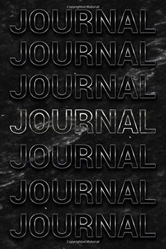 portada Journal: Black Marble & Silver Softcover Note Book Diary | Lined Writing Journal Notebook | Pocket Sized | 200 Pages | Journal Books (libro en inglés)
