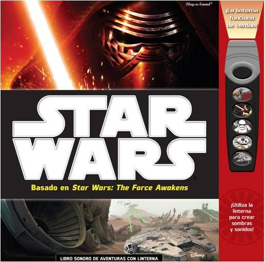 Star wars force awakens libro de sombras fab; star wars