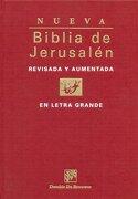 Biblia de Jerusalén en Letra Grande - Varios Autores - Desclee De Brouwer
