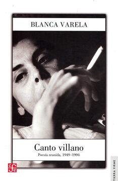 portada Canto Villano. Poesía Reunida, 1949-1994