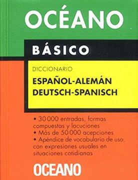 portada Diccionario Oceano Basico Espanol-Aleman
