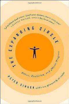 portada The Expanding Circle: Ethics, Evolution, and Moral Progress (libro en inglés)