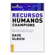 Recursos Humanos Champions - Dave Ulrich - Granica