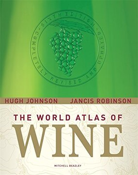 portada The World Atlas of Wine (libro en Inglés)