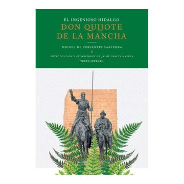portada El Ingenioso Hidalgo don Quijote de la Mancha