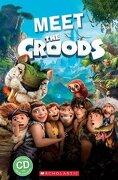 Meet the Croods (Popcorn Readers) (libro en Inglés) - Michael Watts; Nicole Taylor - Mary Glasgow Magazines