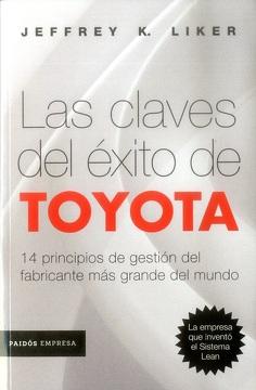 portada Las Claves del Éxito de Toyota