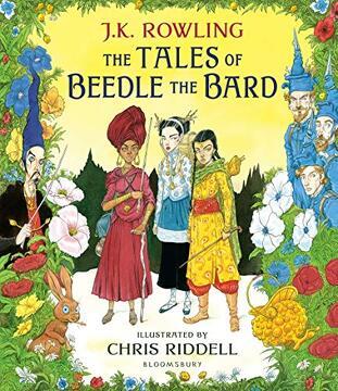 portada The Tales of Beedle the Bard: Illustrated Edition (libro en Inglés)