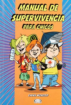 portada Manual de Supervivencia Para Chicos