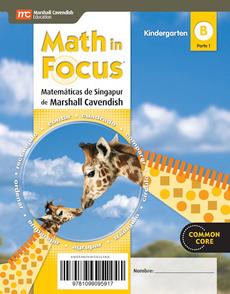 portada Math in Focus. Matematicas de Singapur (Texto del Alumno Kindergarten