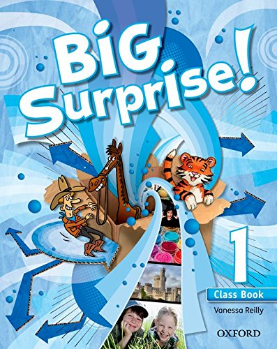 Big surprise 1: class book and multi-rom pack; vanessa reilly