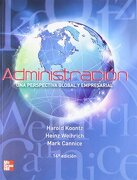 Administracion una Perspectiva Global - Weihrich Koontz, - Mcgraw-Hill