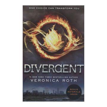 portada Divergent (libro en Inglés)