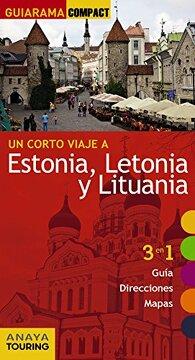 portada Estonia, Letonia y Lituania (Guiarama Compact - Internacional)