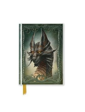 portada Beyit: Black Dragon (Foiled Pocket Journal) (Flame Tree Pocket Books) (libro en Inglés)