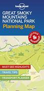 Lonely Planet Great Smoky Mountains National Park Planning map (libro en Inglés)