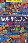Morphology: Palgrave Modern Linguistics (Macmillan Modern Linguistics) (libro en Inglés) - Francis Katamba - Palgrave