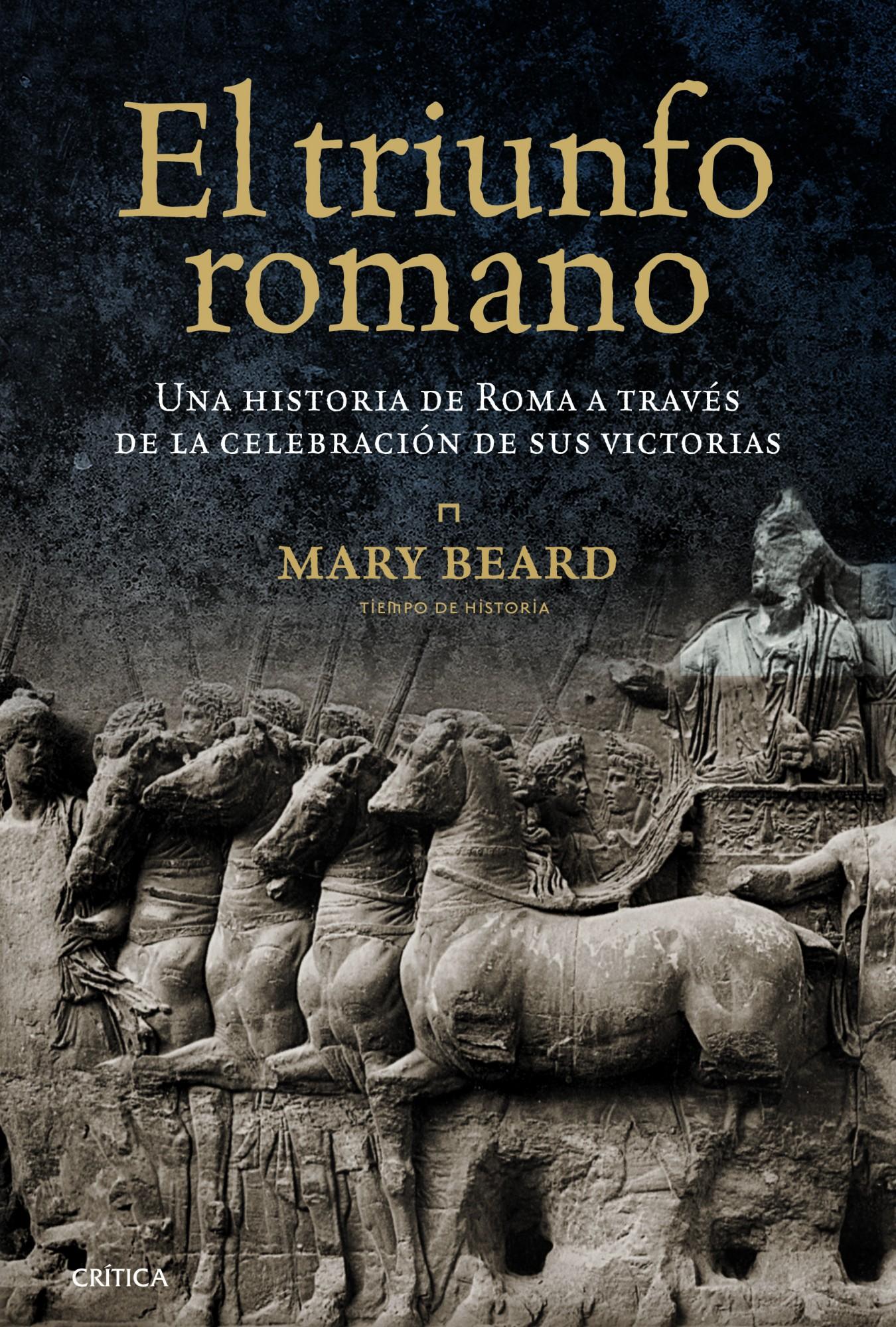 El triunfo romano; mary beard